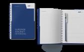 Beispiel der Werbemittel im neuen Corporate Design von Air Ambulance Technology
