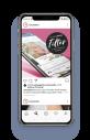 luxuslashes focuslashes profilbild insta 1 werbeagentur moremedia linz